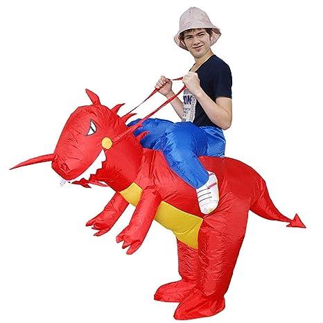 Disfraz Inflable de Dinosaurio para niños Adultos Traje ...