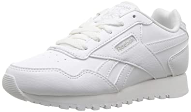 Reebok Classic Harman Run Kids Sneaker, US WHITESTEEL, Little