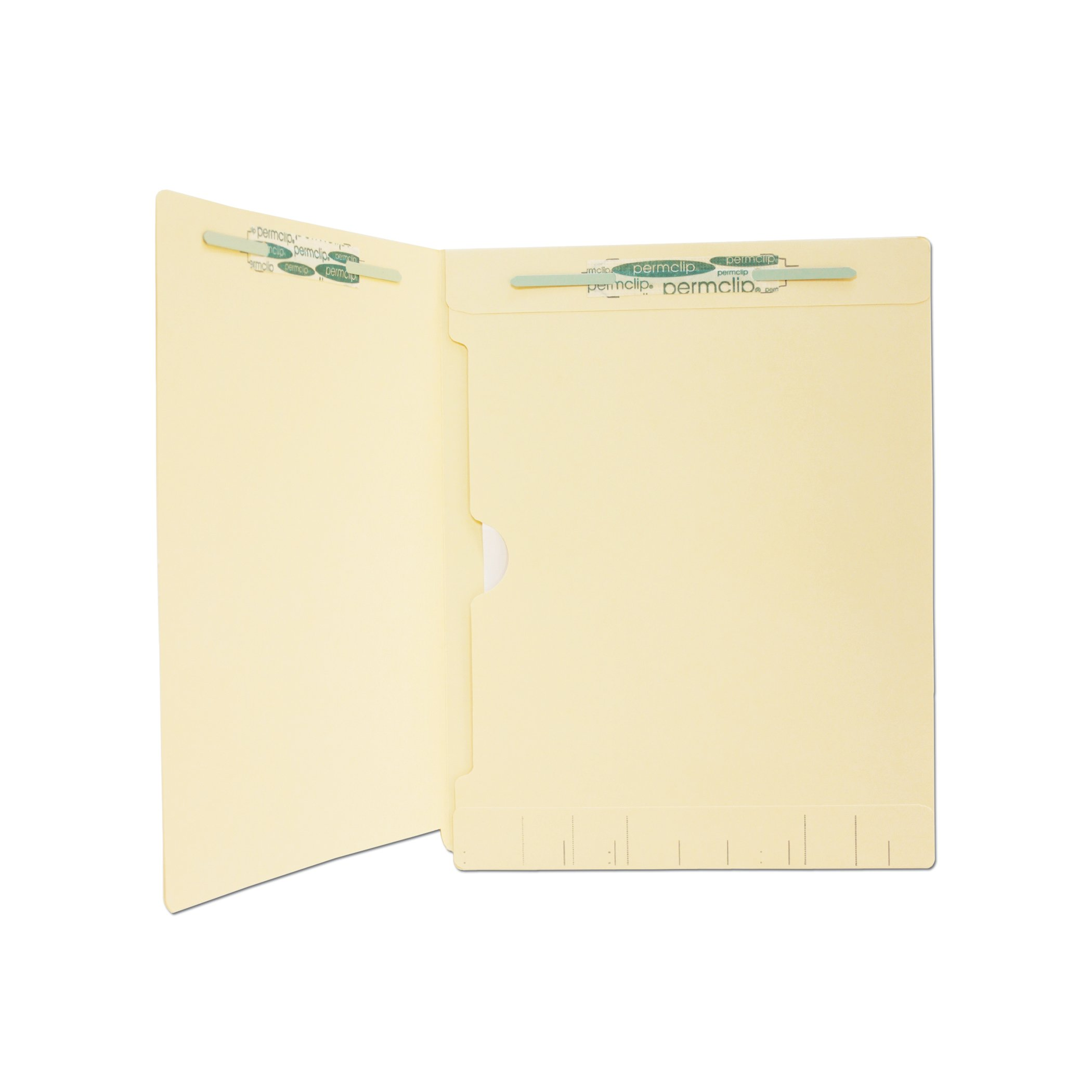 Medical Arts Press Match Manila End Tab Folders with Full Pocket and 2 Permclip Fasteners (250/Carton)