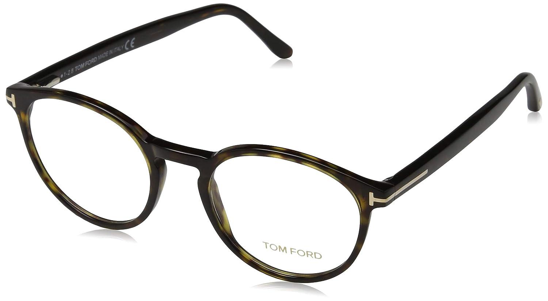 cedab2d1547 Eyeglasses Tom Ford FT 5524 052 dark havana at Amazon Men s Clothing store