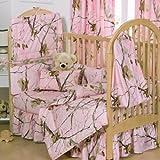 Realtree APC Pink Crib Comforter