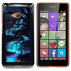 """Planetar ( Monstruo Spooky Demon Hombre"""" ) Nokia Lumia 540 Fundas Cover Cubre Hard Case Cover"""