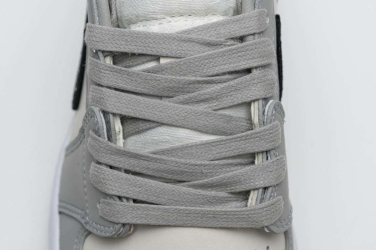 1 Haute Chaussures de Basket Fitness Sport Gymnastique Casual Sneakers Homme Femme Low Grey