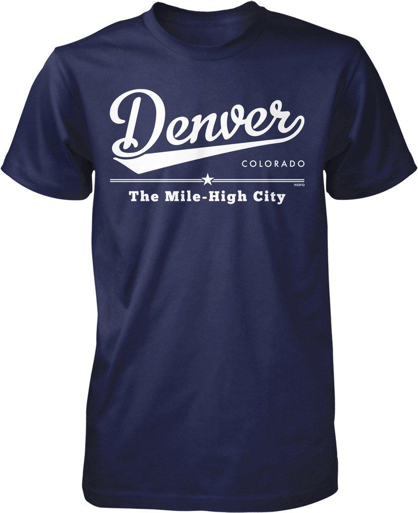 Denver Colorado The Mile High City S Tshirt