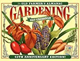 img - for The Old Farmer's Almanac 2017 Gardening Calendar book / textbook / text book