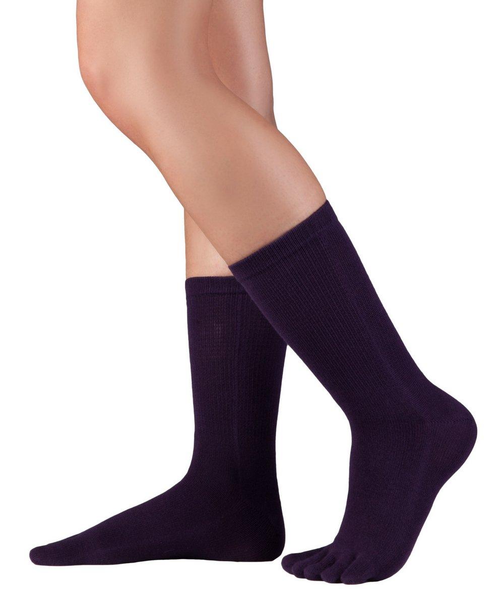 Knitido Essentials | wadenlange Zehensocken aus Baumwolle
