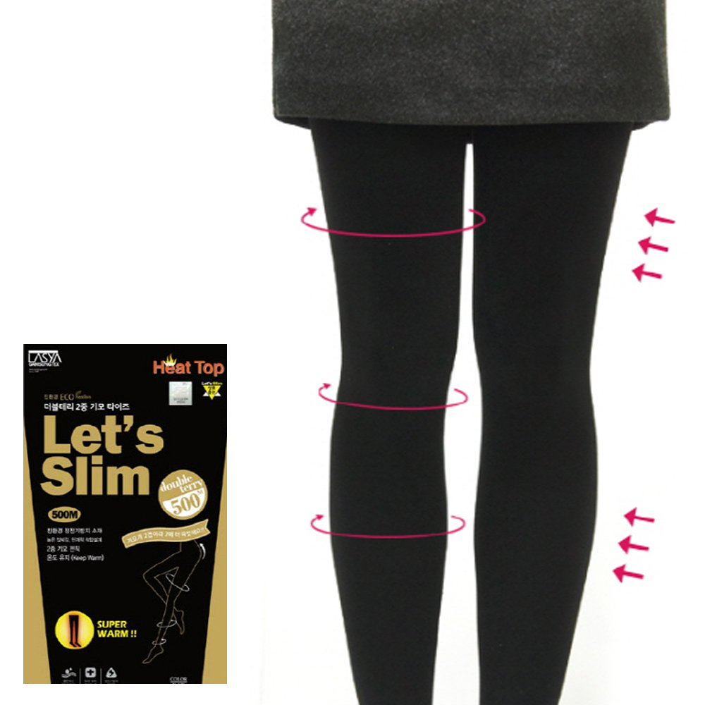 6d78cee478b54 Amazon.com: Let's Slim 500M Power high Up tights High Stocking Push up  girdle Hip Up 2016 New: Clothing