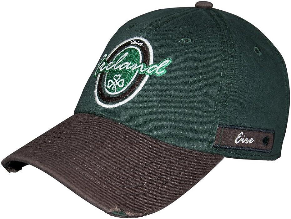 4dfc56eb424 Croker Dark Green   Brown Ireland Oval Label Cap