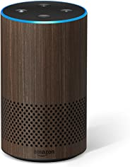 Certified Refurbished Echo (2nd Generation) - Smart speaker with Alexa – Limited Edition Walnut Finish
