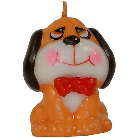 Promobo Bougie Decorative Dog Pekinois Ideal Birthday Cake And