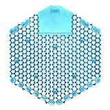 Fresh Products 3WDS60CBLBX Wave 3D Urinal Deodorizer Screen, Blue, Cotton Blossom, 10 Per Box
