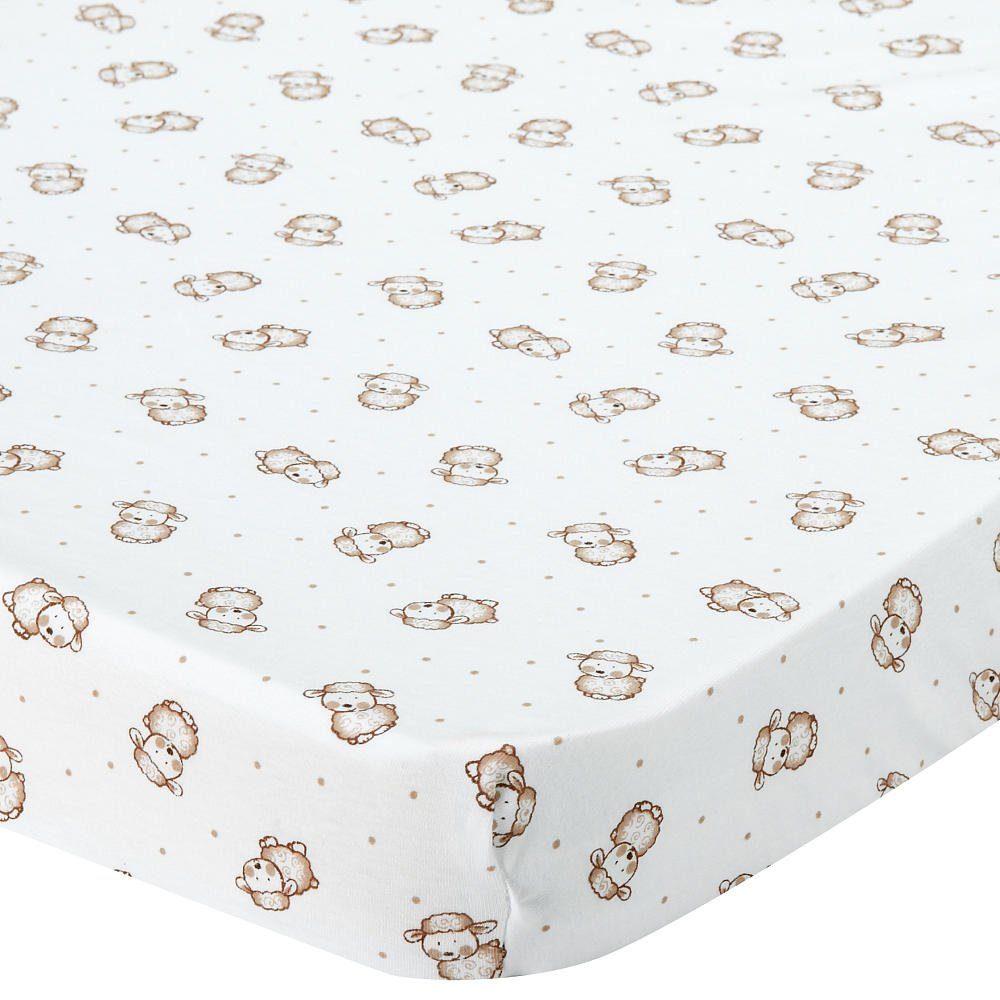 Babies R Us Knit Bassinet Sheet - Lamb