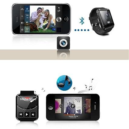 Houzon U8 - SmartWatch Bluetooth V3.0 (EDR, Pantalla Táctil ...