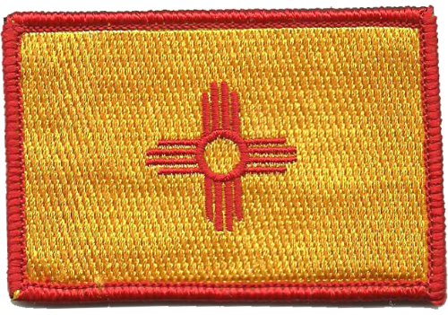 New Mexico Tactical Flag Patch