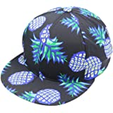 Coromose® Pineapple Snapback Bboy Hat Adjustable Baseball Cap Hip-hop Hat Unisex