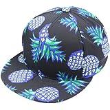 Coromose® Pineapple Snapback Bboy Hat Adjustable Baseball Cap Hip-hop Hat Unisex