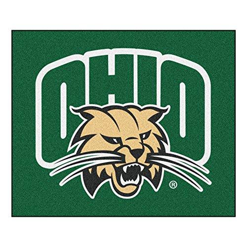 - FANMATS NCAA Ohio University Bobcats Nylon Face Tailgater Rug
