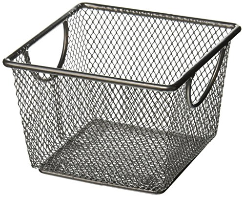 Design Ideas Mesh Storage Nest, Silver, Large
