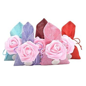 Amosfun Bolsas de dulces para la boda Bolsas de regalo de la ...