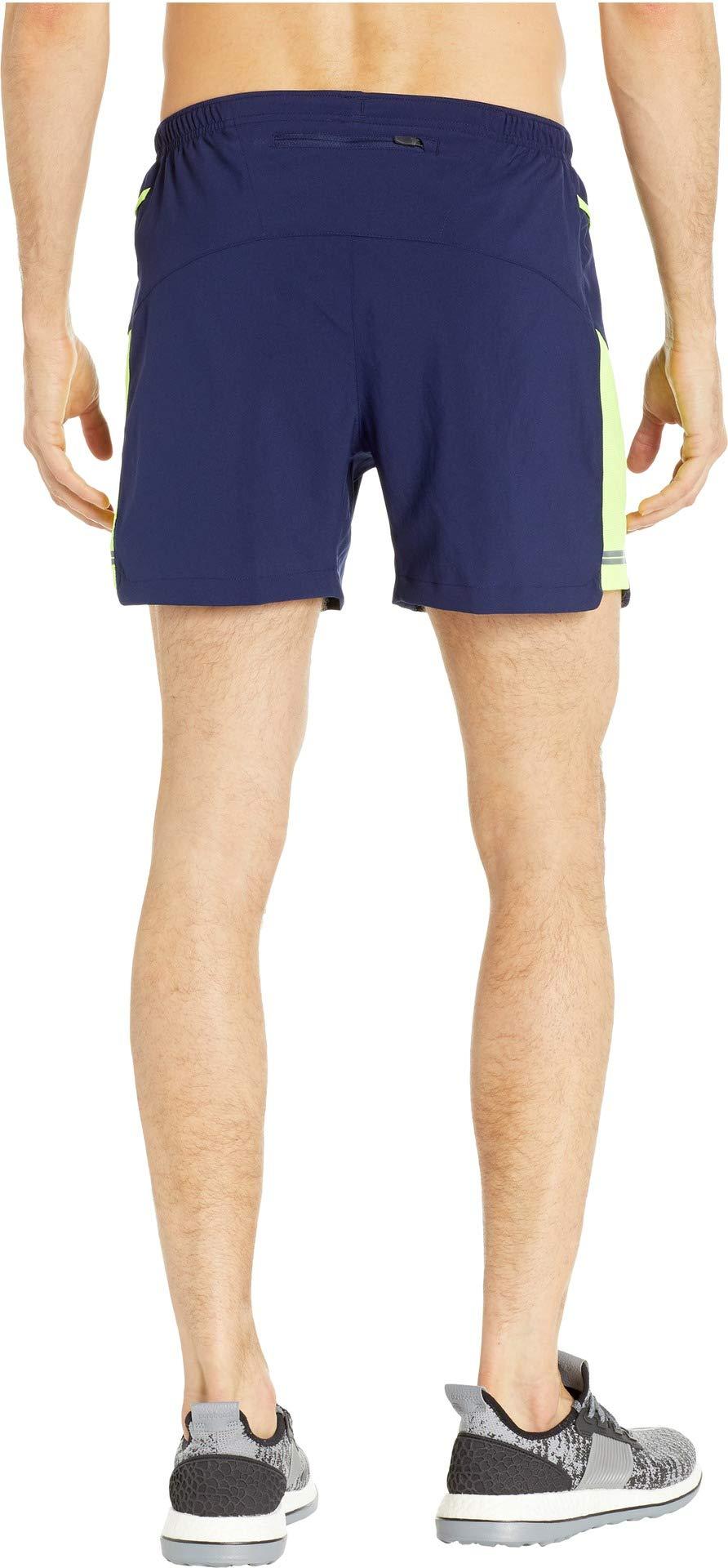 Brooks Men's Sherpa 5'' Shorts Navy/Nightlife Medium 5 by Brooks (Image #3)