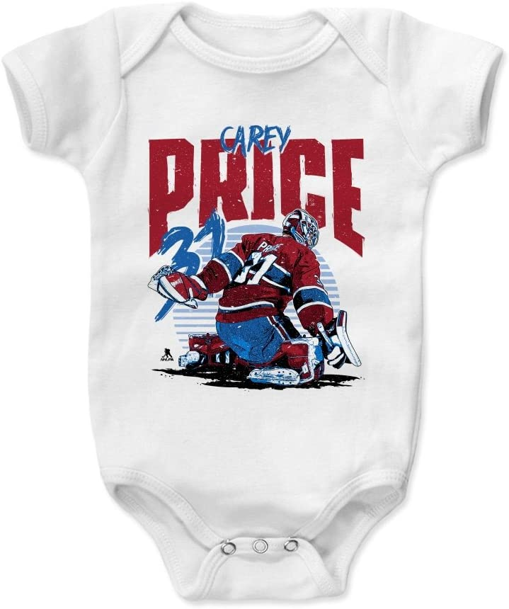 Carey Price Rise 500 LEVEL Carey Price Montreal Hockey Baby Clothes /& Onesie 3-24 Months