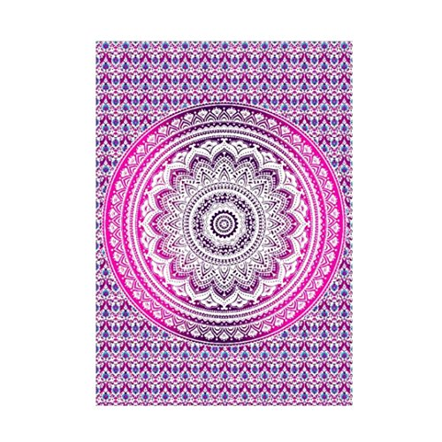 Signature Sleep 12 Inch Memory Foam Mattress King Rectangle Beach Towel,Elevin(TM) Summer Indian Mandala Hippie Tapestry ...