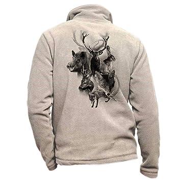 Pets-easy - Chaqueta Polar con Ciervo para Caza, diseño de ...