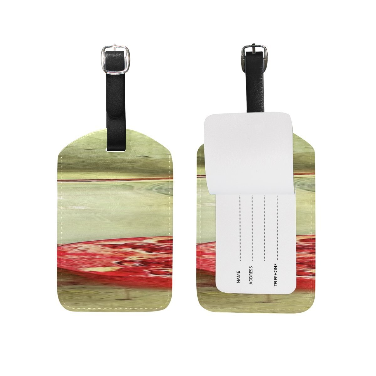Still Life Fine Art Still-life Painting Fruit PatternSuitcase Luggage ID Tags
