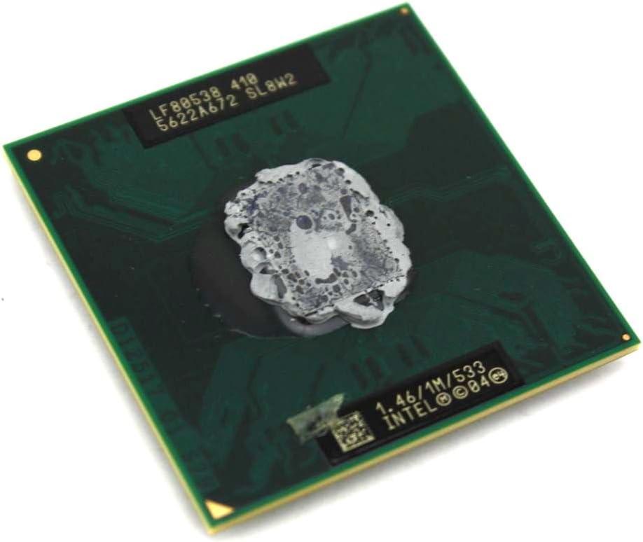 Intel Genuine Celeron M Laptop CPU Computer Processor 1.46 GHz FSB Speed - 533 MHz 1MB Single Socket 478 SL8W2