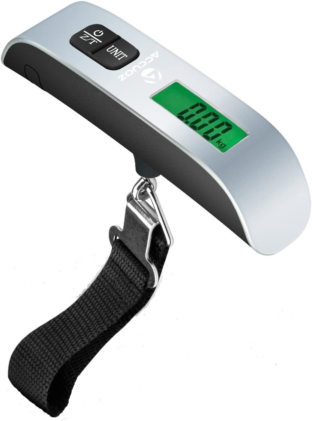 Best for Travel Black Portable Digital Luggage Scale w// Backlight