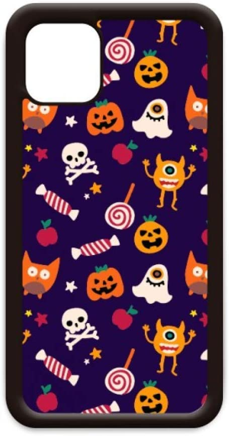 Pumpkin Happy Ghost Fear Halloween for iPhone 11 Pro Max Cover for Apple Mobile Case Shell