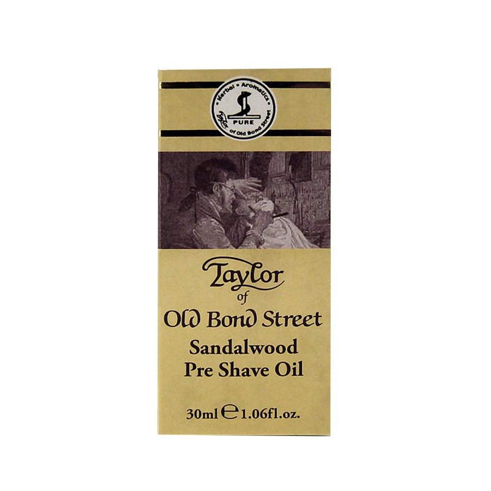 Taylor of Old Bond Street 1.06 oz / 30ml Sandalwood Pre Shave Oil 01098