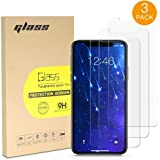VRURC Screen Protector for Apple iPhone Xs Max, 6.5-Inch, Tempered Glass Film, 3-Pack