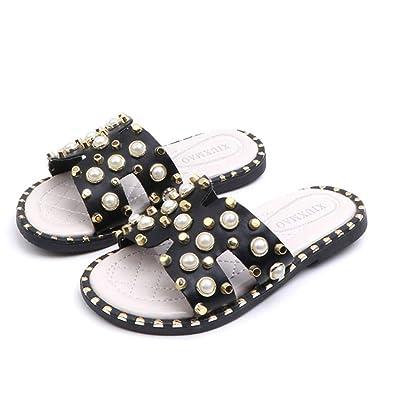 Sandalias de niña y Zapatillas de Verano Moda Traje de Playa ...