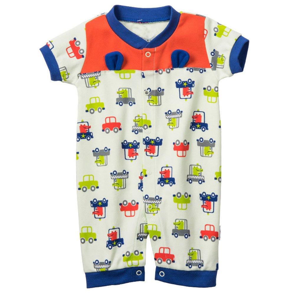 LJ Unisex-Baby Newborn Short Sleeve Sleep /& Play