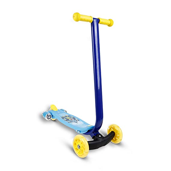 Amazon.com : Hosmat Kids Scooter Mini 3 Wheels Scooter for Girls Boys Children Toddler Micro T-Bar Toy Kick Scooter with Music and LED Wheels (Blue) ...