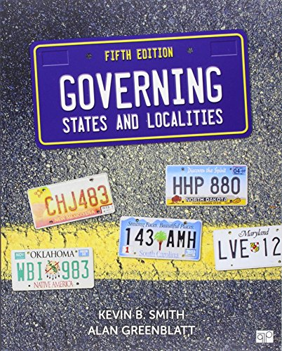 BUNDLE: Smith: Governing States and Localities, 5e + Smith: Governing States and Localities, 5e Online Resource Center