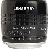 """Lensbaby LB-V56BC Velvet 56"""" Lens for Canon EF Camera"""