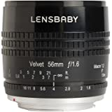 Lensbaby 56 mm f/1.6-16 - Objetivo para Canon EF (distancia focal 56 mm, apertura f/1.6-16), color negro