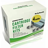 ReibyHealth Cartridge Filter Kit for So 2, 8pcs CPAP Filter Replacement Kit for CPAP Cleaner Sanitizer, 4 Cartridge…
