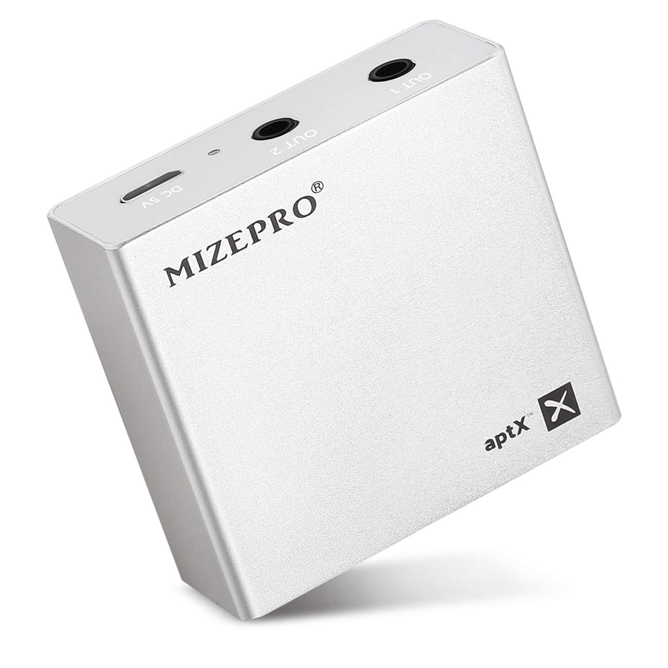 MIZEPRO Bluetooth Receiver for Home Music Streaming System, Wireless Audio Adapter,Bluetooth 4.2 Music Adapter with High-Fidelity Stereo Sound and Up to 25 Hours Working-Time,(aptX Low Latency)