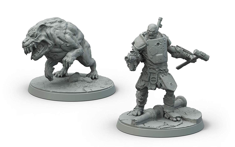 Fallout Wasteland Warfare Super Mutants Hammer Miniatures