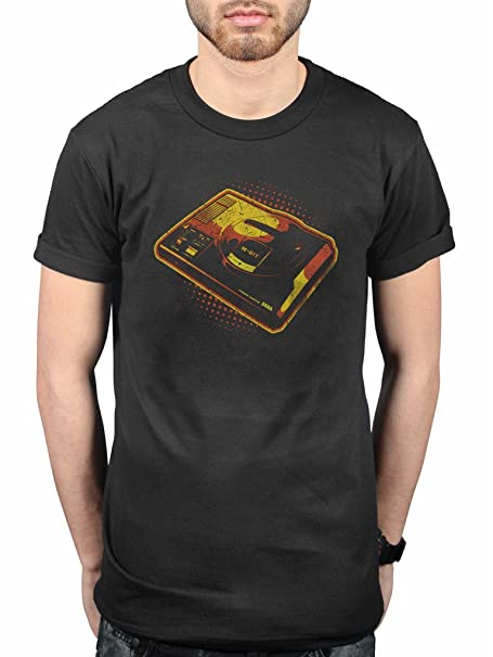 AWDIP Oficial Retro SEGA MEGADRIVE camiseta noventa Gamer consola Retro: Amazon.es: Ropa y accesorios