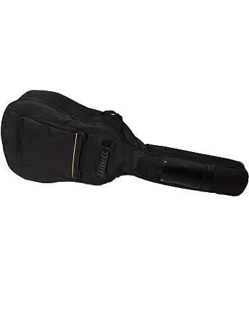 3f8389b24bc Faswin 41 Inch Dual Adjustable Shoulder Strap Acoustic Guitar Gig Bag -  Black
