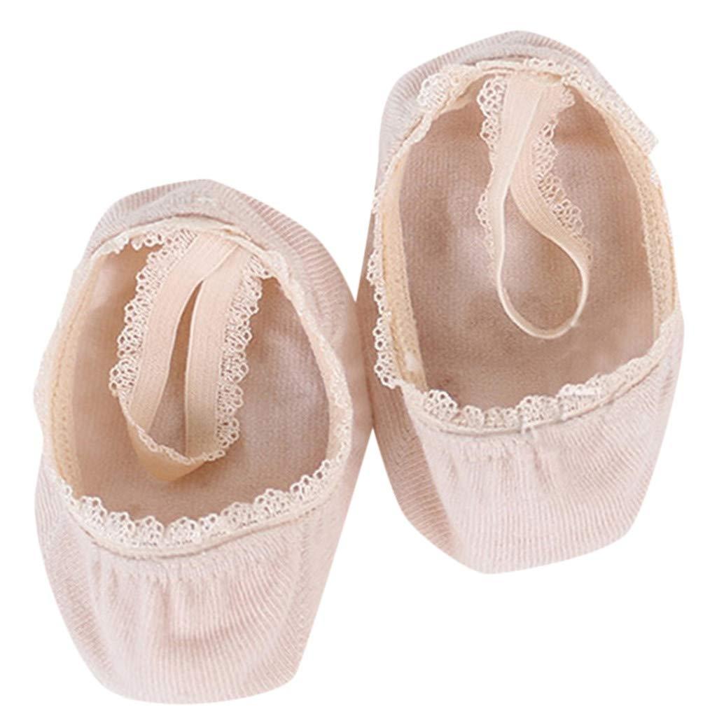 ❤️ Mealeaf ❤️ Infant Newborn Baby Girl Kids Lace Inside Solid Ankle Socks(1-8y)