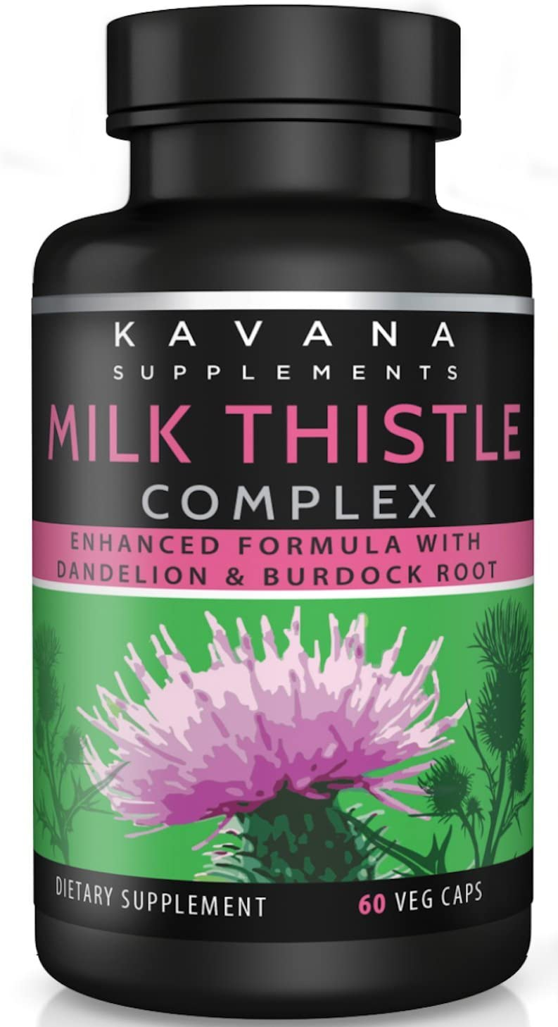 Milk Thistle Complex Supplement
