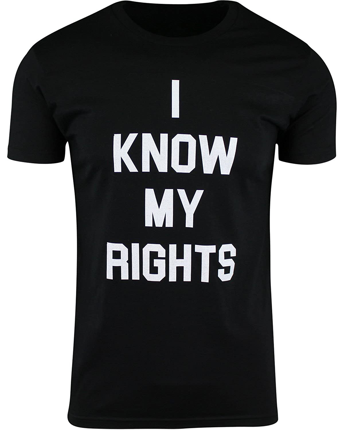 I Know My Rights Mens T Shirts Police Brutality Black Lives Matter