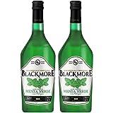 Licor Sabor Menta Verde Premium Blackmore 1 Litro   2 Piezas