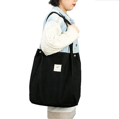 Amazon.com: Bolsa de transporte de pana con bolsillo ...