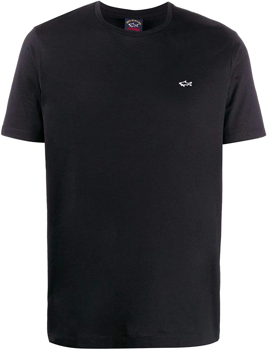 PAUL & SHARK Luxury Fashion Man E20P1074011 Black Cotton T-Shirt | Spring Summer 20